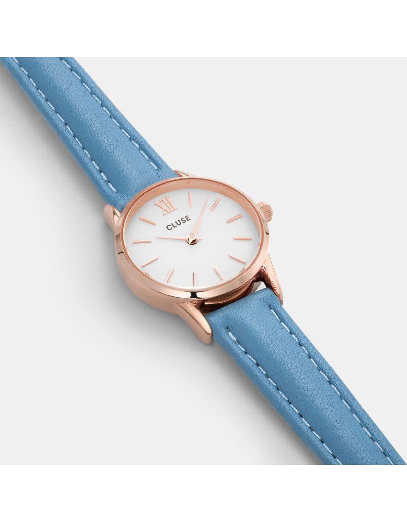 Cluse Watches Cluse La Vedette Rose Gold White/Retro Blue