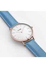 Cluse Watches Cluse La Bohème Rose Gold White/Retro Blue