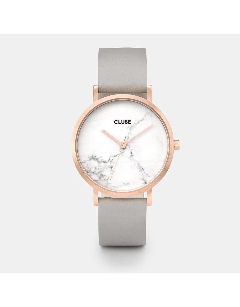 Cluse Watches Cluse La Roche rose Gold White Marble/Grey