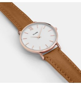 Cluse Watches Cluse Minuit Rose Gold White/Caramel