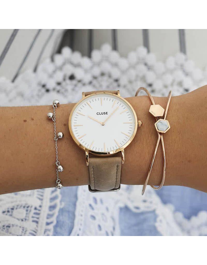 Cluse Watches Cluse La Bohème Rose Gold White/Hazelnut