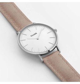 Cluse Watches Clues La Bohème Silver White/Hazelnut