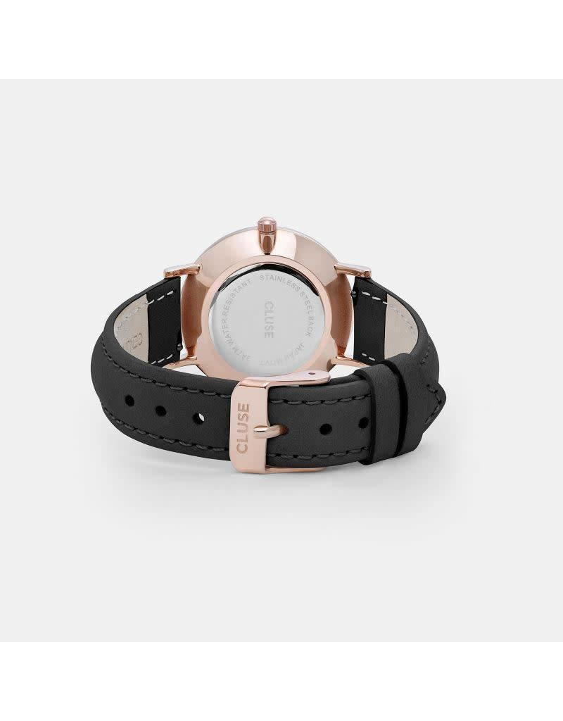Cluse Watches Cluse Minuit Rose Gold Black/Black