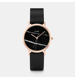 Cluse Watches La Roche Petite Rose Gold Black Marble/Black