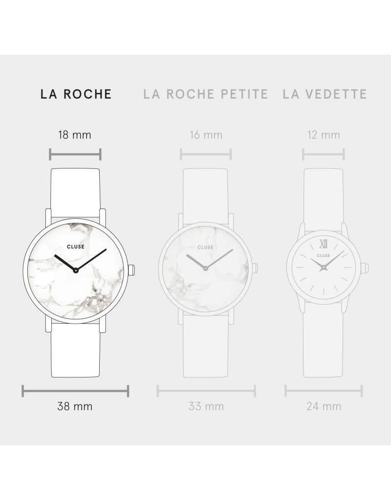 Cluse Watches Cluse La Bohème Silver White/Black