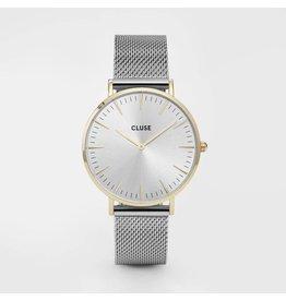 Cluse Watches Cluse La Bohème Mesh Gold/Silver