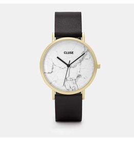 Cluse Watches Cluse La Roche Gold White Marble/Black