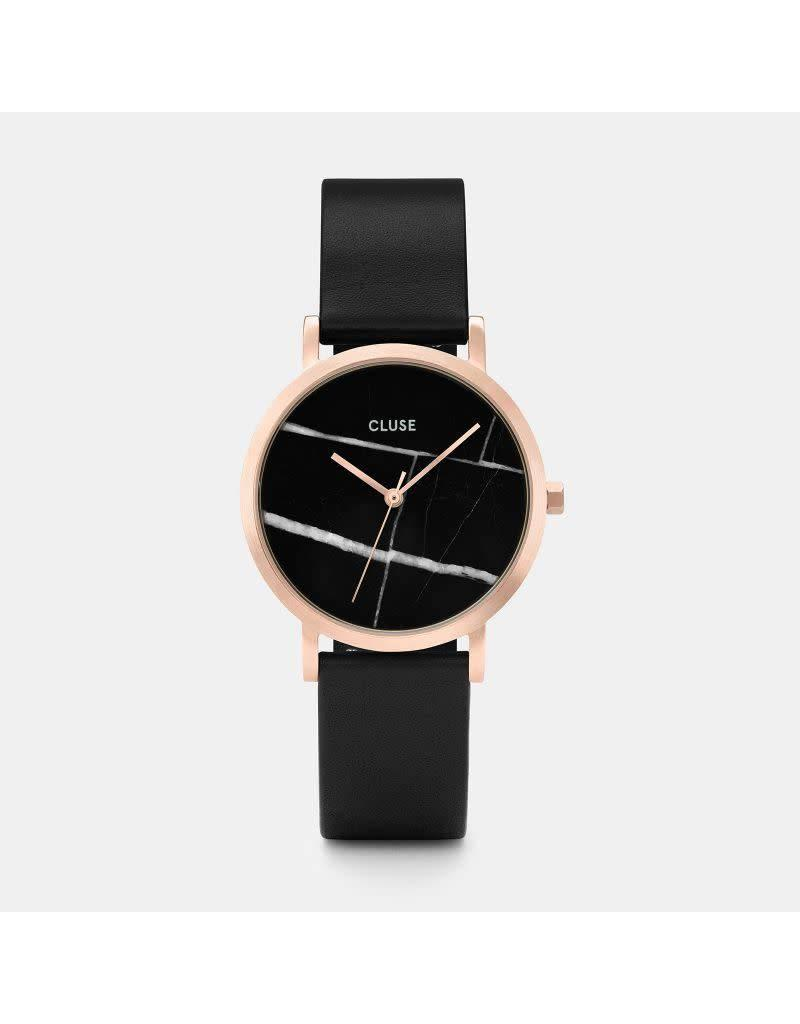 Cluse Watches Cluse La Roche Rose Gold Black Marble/Black