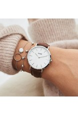 Cluse Watches Cluse La Bohème Silver White/Brown