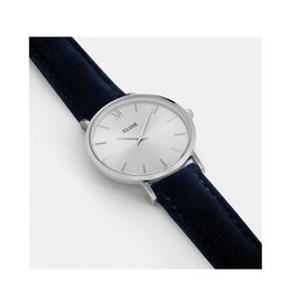 Cluse Watches Cluse Minuit Velvet Silver/Blue
