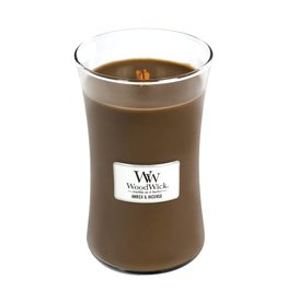 WoodWick WoodWick Amber & Incense Geurkaars Large