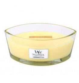 WoodWick WoodWick® Ellipse Candle Lemongrass & Lily