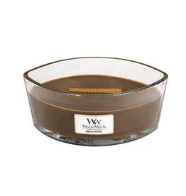 WoodWick WoodWick® Ellipse Candle Amber & Incense