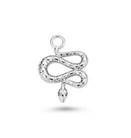 Mi Moneda Monogram MMM Charm Snake 925 Zilver
