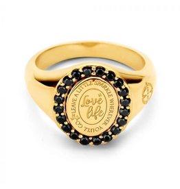 Mi Moneda Vintage MMV Lolita Ring Goudkleurig