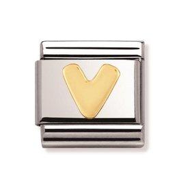 Nomination Nomination - 030101-22- Link Classic Letters - V