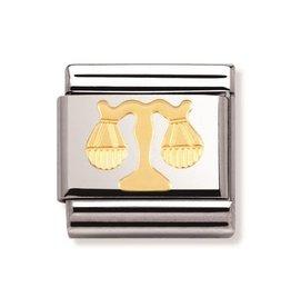 Nomination Nomination - 030104-07- Link Classic Zodiac - Libra