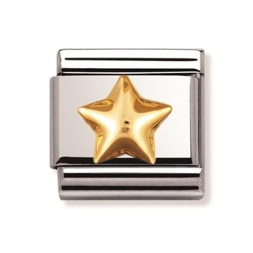 Nomination Nomination - 030110-12- Link Classic FUN - Raised Star