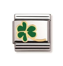 Nomination Nomination - 030214-23- Link Classic NATURE - Clover With Stem