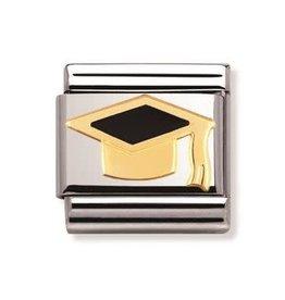 Nomination Nomination - 030223-08-Link Classic BACK TO SCHOOL - Black Graduatehat