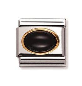 Nomination Nomination - 030502-02- Link Classic STONES - Black Agate