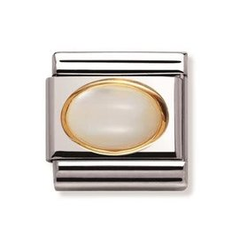 Nomination Nomination - 030502-12- Link Classic STONES - White Mother Of Pearl