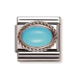 Nomination Nomination - 030509-06- Link Classic STONES - Turquoise