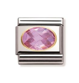 Nomination Nomination - 030601-003- Link Classic FACETED - Pink