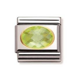 Nomination Nomination - 030601-004- Link Classic FACETED - green