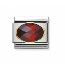 Nomination Nomination - 030601-005- Link Classic FACETED - Red