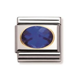 Nomination Nomination - 030601-007- Link Classic FACETED - Blue