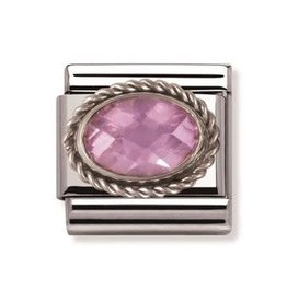Nomination Nomination - 030606-003- Link Classic FACETED - Pink