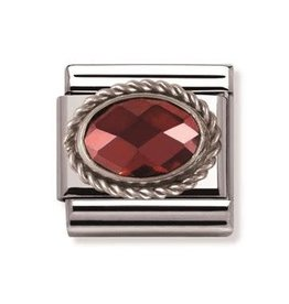 Nomination Nomination - 030606-005- Link Classic FACETED - Red