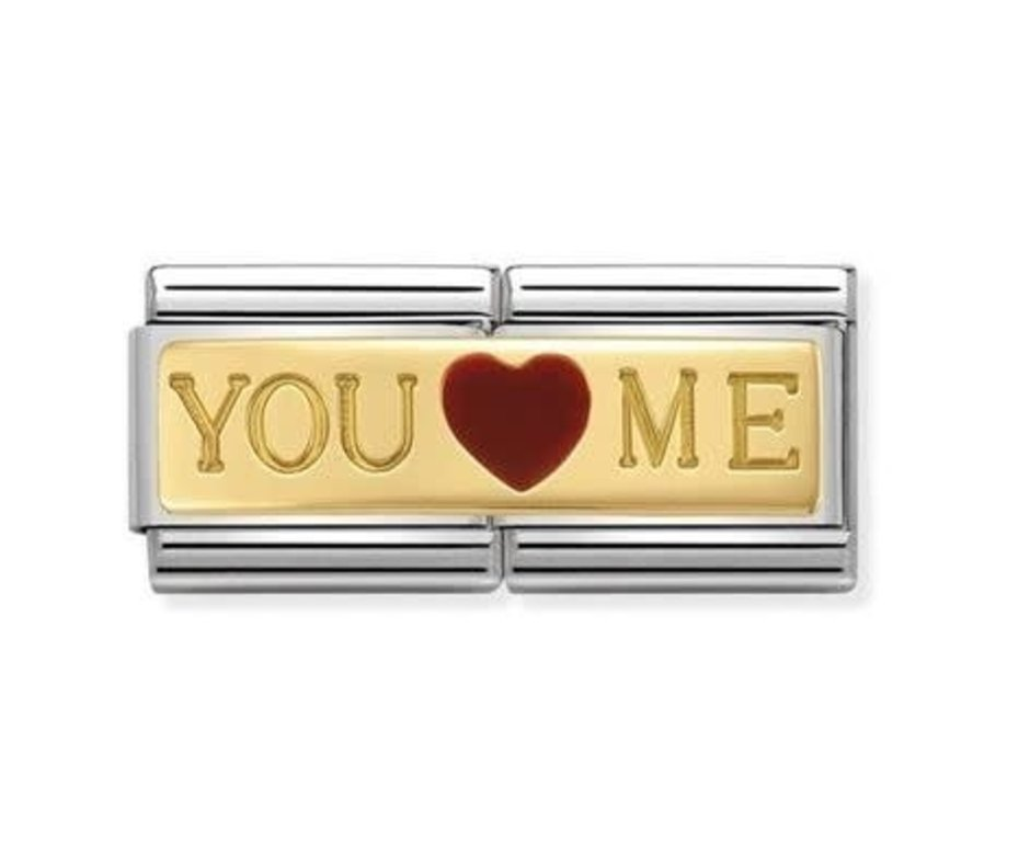 Nomination Nomination - 030720/01 - Link Classic DOUBLE ENGRAVED - You And Me