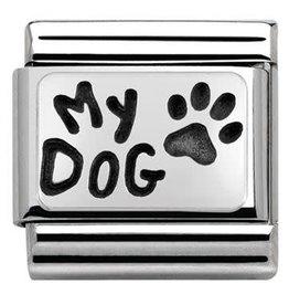 Nomination Nomination - 330102-35- Link Classic PLATES OXIDIZED - My Dog
