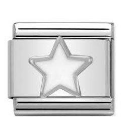 Nomination Nomination - 330202-04- Link Classic SYMBOLS - White Star