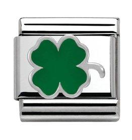Nomination Nomination - 330202-12- Link Classic SYMBOLS - Green Clover