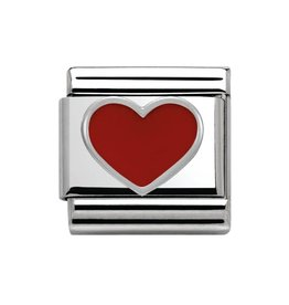 Nomination Nomination - 330202-17- Link Classic SYMBOLS - Red Heart