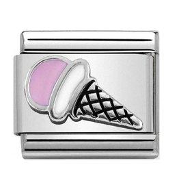 Nomination Nomination - 330202-44- Link Classic SYMBOLS - Pink Ice Cream