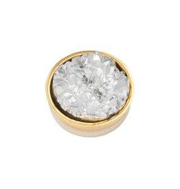 iXXXi Jewelry iXXXi Jewelry Top Part Drusy Crystal Goudkleurig