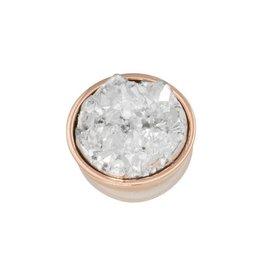 iXXXi Jewelry iXXXi Jewelry Top Part Drusy Crystal Rosé