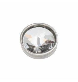 iXXXi Jewelry iXXXi Jewelry Top Part Pyramid Crystal Zilverkleurig