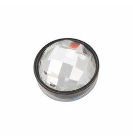 iXXXi Jewelry iXXXi Jewelry Top Part Facet Crystal Zwart