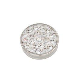 iXXXi Jewelry iXXXi Jewelry Top Part Crystal Stones Zilverkleurig