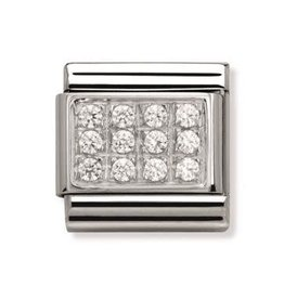 Nomination Nomination - 330307-01- Link Classic PAVE - White