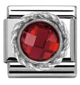 Nomination Nomination - 330601-005- Link Classic STONES - Red