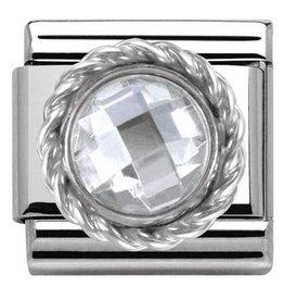 Nomination Nomination - 330601-010- Link Classic STONES - White