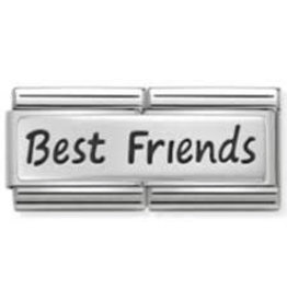 Nomination Nomination - 330710-03 - Link Classic DOUBLE ENGRAVED - Best Friends