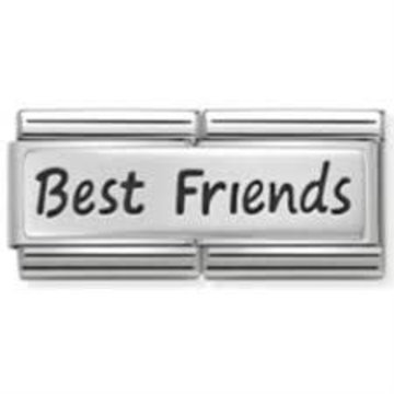 Nomination Nomination - 330710-03 - Link Classic DOUBLE ENGRAVED - Best Friends