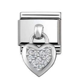 Nomination Nomination - 331800-01- Link Classic CHARMS - Heart